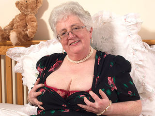 Granny what big tits and a dirty mind you have