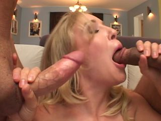 Double passion for cock sucking Allison Pierce