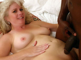 Horny MILF Gets Railed by a Black Cock